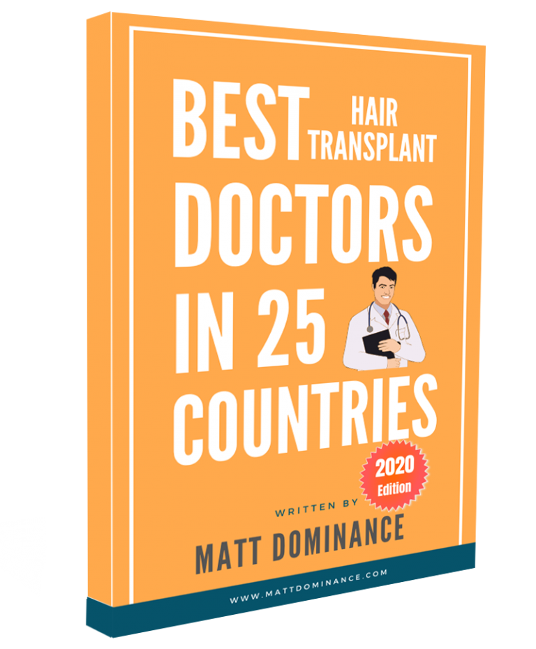 Best Hair Transplant doctors in 25 Countries - 2020 Edition