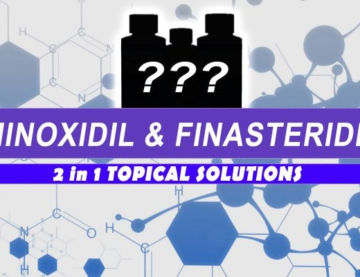 Minoxidil and Finasteride 2in1 topical solutions for hair loss prevention