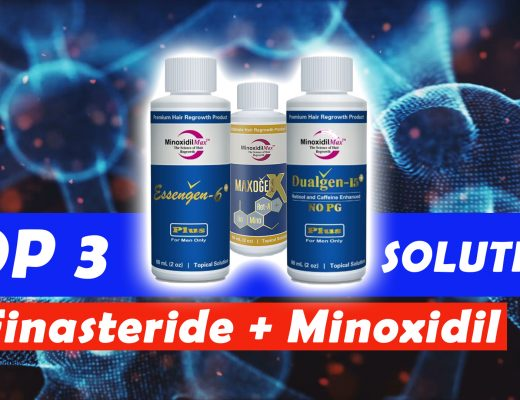 TOP 3 Topical Finasteride and Minoxidil solutions