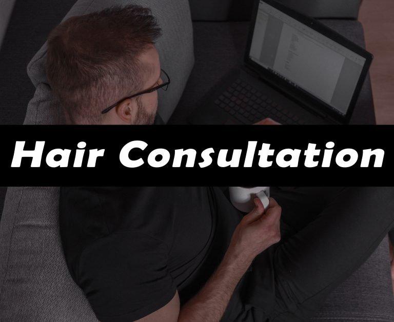 hair consultation with Matt Dominance