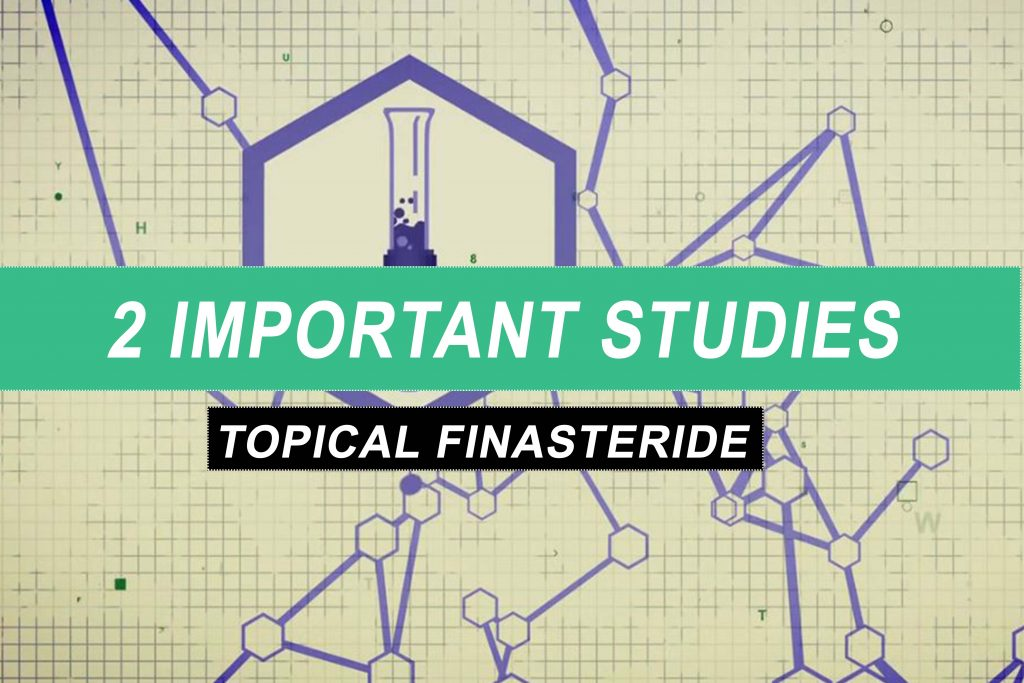 topical finasteride studies