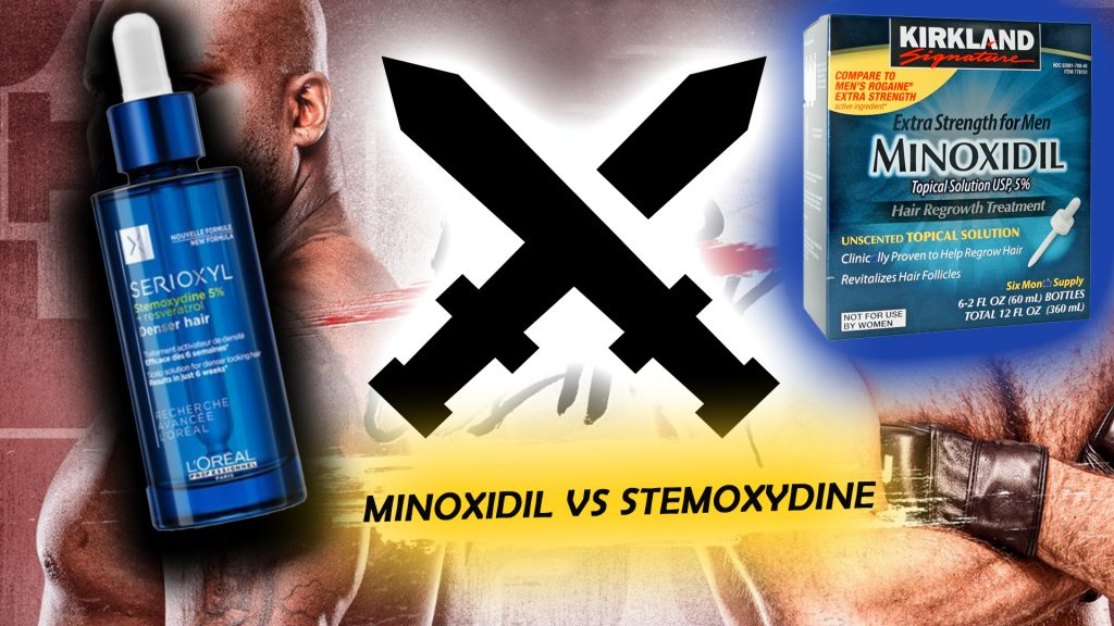 Minoxidil vs Stemoxydine for hair growth