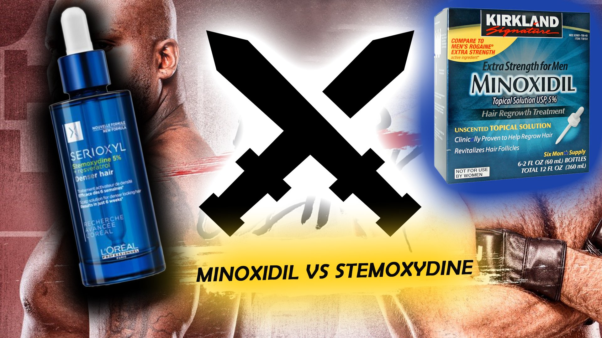 Minoxidil vs Stemoxydine for hair growth