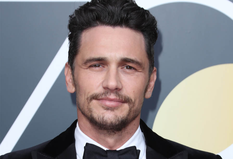 james Franco FUE hair transplant