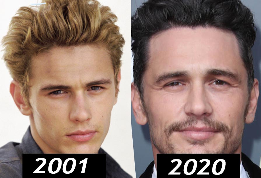james franco young vs old