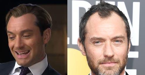 Jude Law 2015 vs 2018