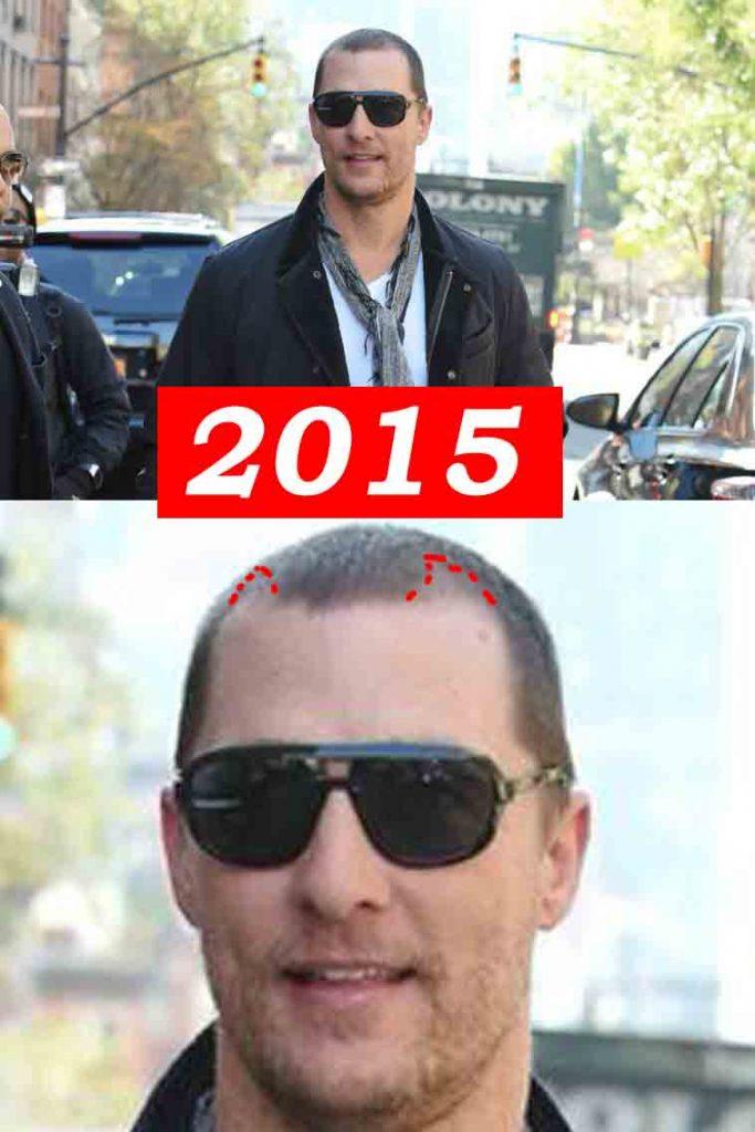 Matthew McConaughey 2015