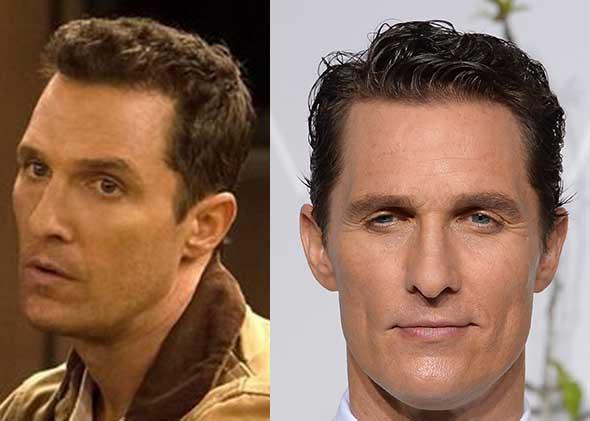 Matthew McConaughey short haircut wig